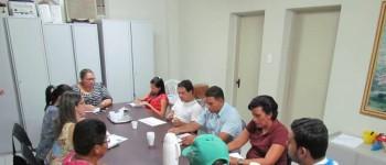 Reunião realizada com supervisor agrícola do IBGE