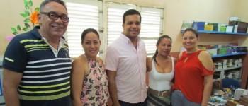 Prefeito Ramon Camilo visita Escola Miguel Vieira de Novais