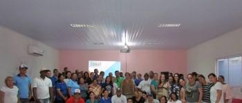 Oficina de Saúde do Trabalhador com os colaboradores da Atenção Básica