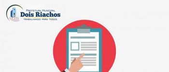 Edital de Convocação para o processo eleitoral do conselho municipal de saúde de Dois Riachos biênio 2021/2023